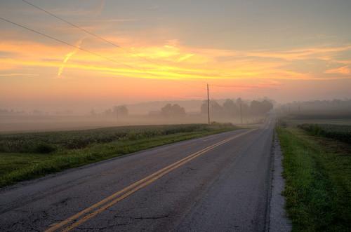 morning ohio mist fog sunrise early haze farm sony fields soybean annaoh sonya7r sel35f28z ilce7r