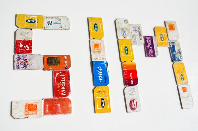 SIM cards of Africa