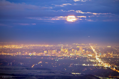 city moon nature night landscape lights scenery colorado cloudy scenic denver september fullmoon nighttime views rockymountains lookoutmountains supermoon jamesboinsogna