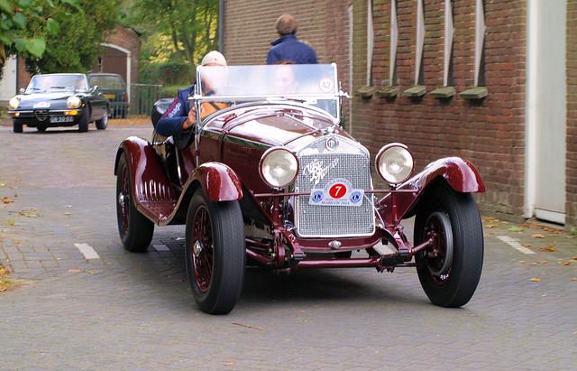 1930 Alfa Romeo 6C 1750 Gran Sport, Oldtimer Festival Blaricum