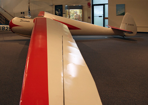 glider sailplane vintageaircraft goldenageofaviation preservedaircraft goldenageaircraft nationalsoaringmuseum rossrs1zanonia n18134 rosszanonia
