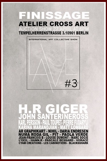Atelier CROSS ART Berlin - LA CAVE #3