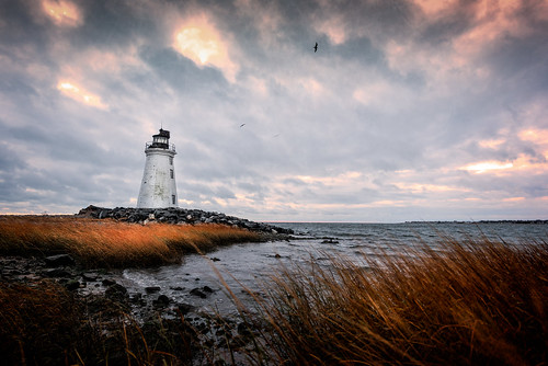 2016 blackrockharbor bridgeport connecticut connecticutphotography fayerweatherislandlight island landscape landscapephotography lighthouse nature naturephotography november ocean outdoors seascape seasidepark sunrise unitedstates cloudy digital rainy us