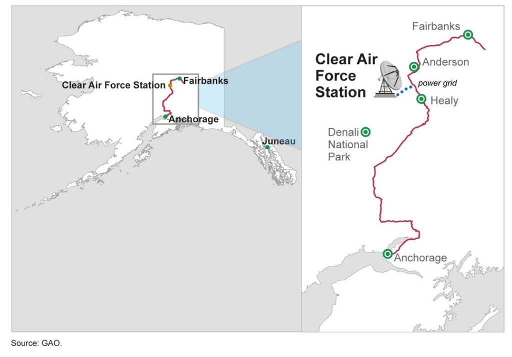 Figure 4 Map Of Alaska Railbelt Transmission System Near Flickr - Clear-us-map