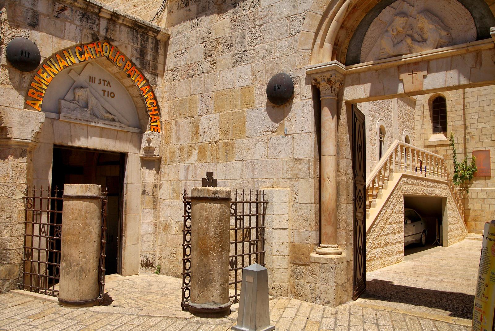 Jerusalem_Via Dolorosa_Station 3 & 4_Noam Chen_IMOT