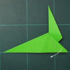 การพับกระดาษเป็นรูปแมวน้ำ (Origami Seal) 007