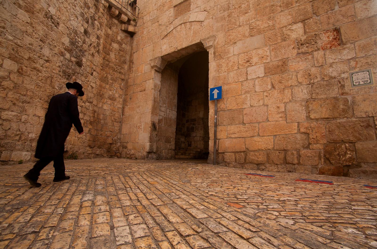 Jerusalem_Old City_Zion Gate_ Sha'ar Tzion_3_Noam Chen_IMOT