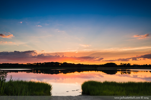 sunset summer sky sun ny reflection water beautiful clouds creek evening bay coast suffolk nikon pretty awesome july peaceful wideangle longisland shore marsh local rays epic northfork eastend 2014 d610 nofo westcreek newsuffolk nikkor1635mmf4vr jschusteritsch northforker jonschusteritsch