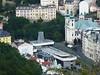 Pohled na Vřídelní kolonádu z Mayerova glorietu, foto: Petr Nejedlý