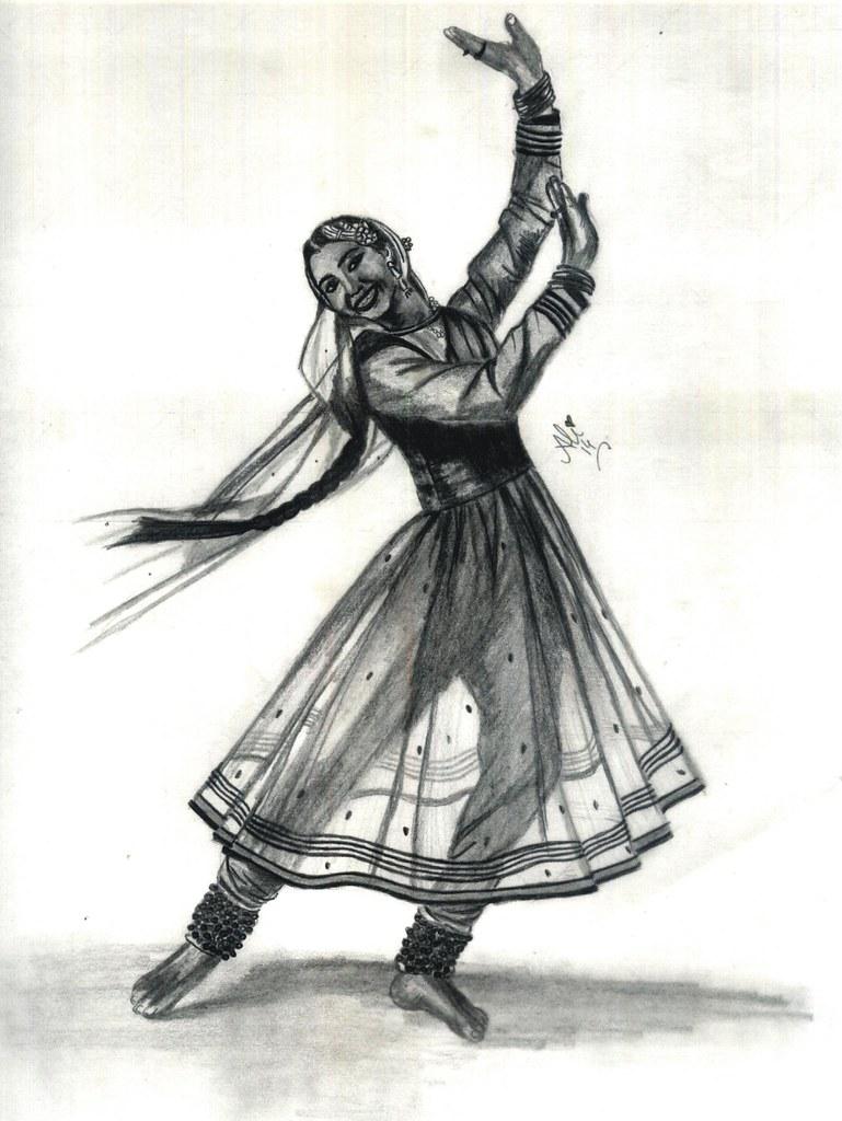 Kathak dancer by bobby dar