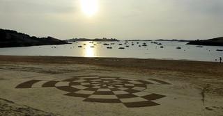 coucher de soleil sur le sable.   by Festival de l'estran, album collaboratif