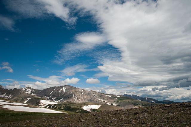 Cloud Formations above Niwot Ridge