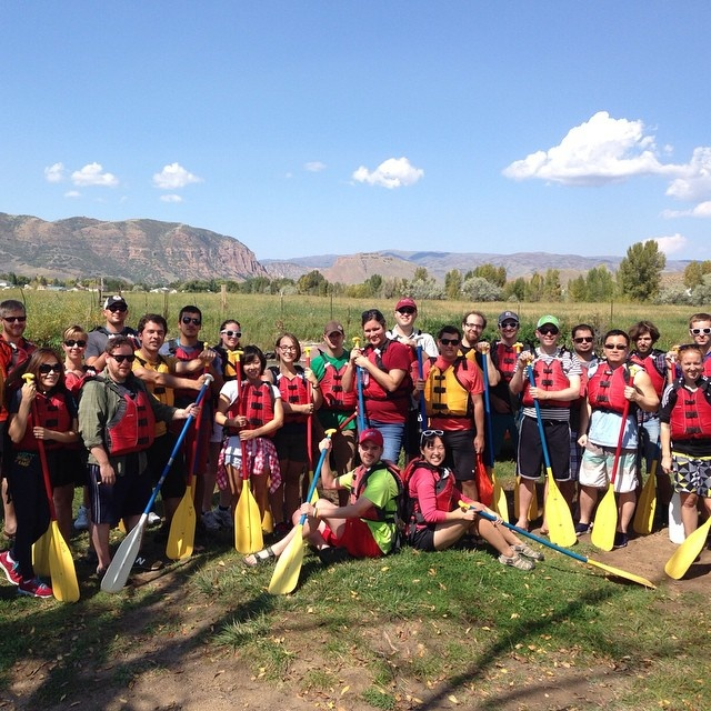 Rafting the Weber River