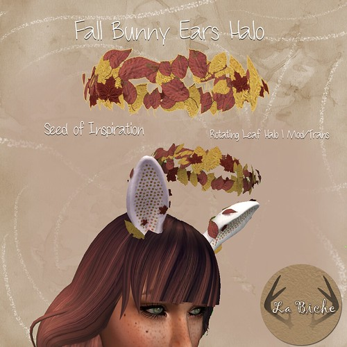 La Biche: Fall Bunny Ears @ The Gacha Garden Nov '16 [SOI-LIMITED]