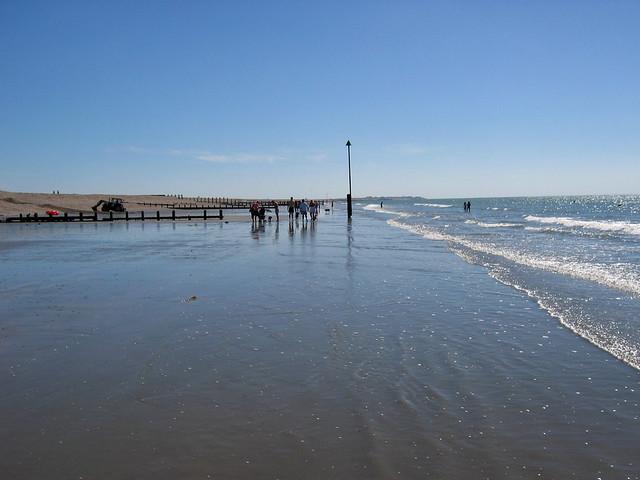 The coast at Bracklesham