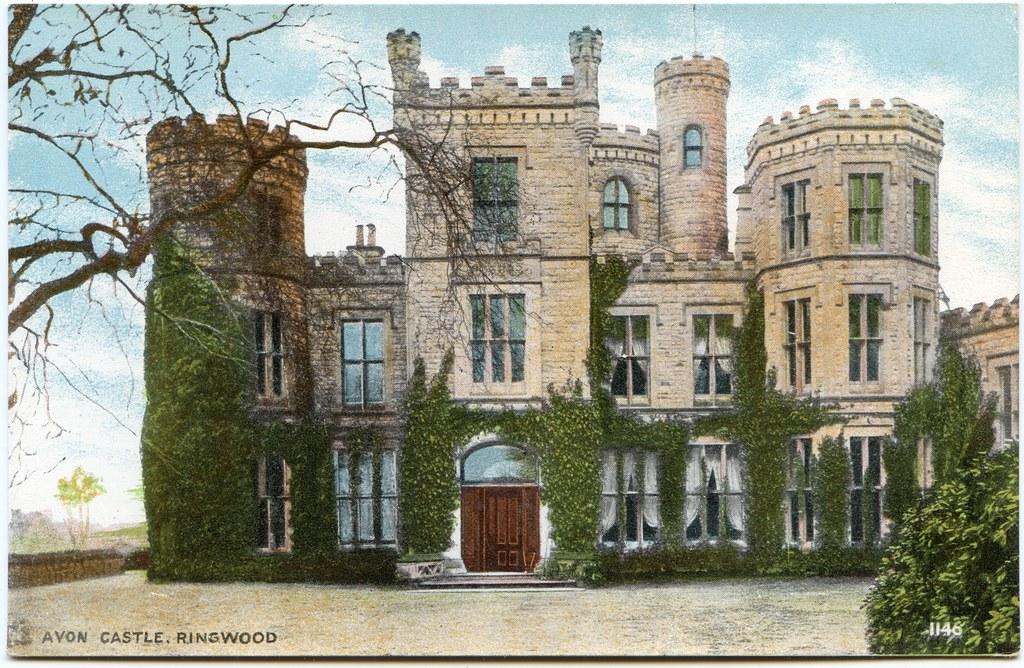 Avon Castle, Ringwood, Hampshire | Postally unused  | Alwyn