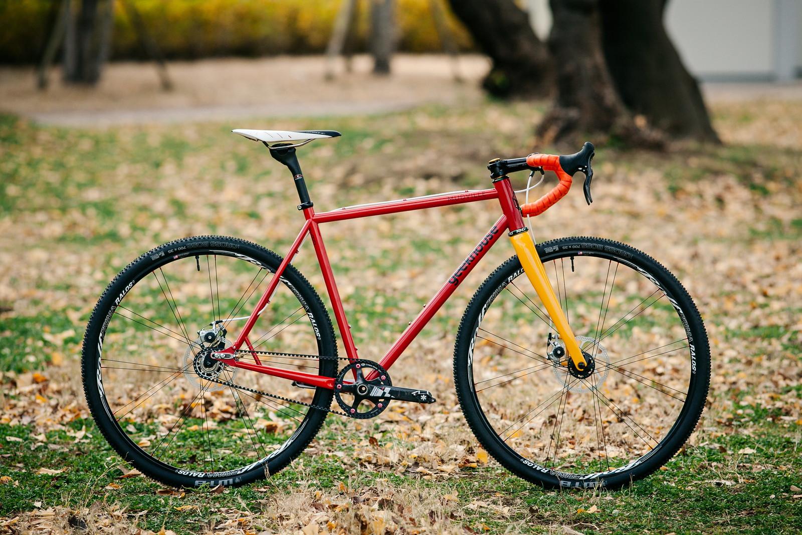 *GEEKHOUSE BIKES* Mudville SSCX Belt Drive complete bike
