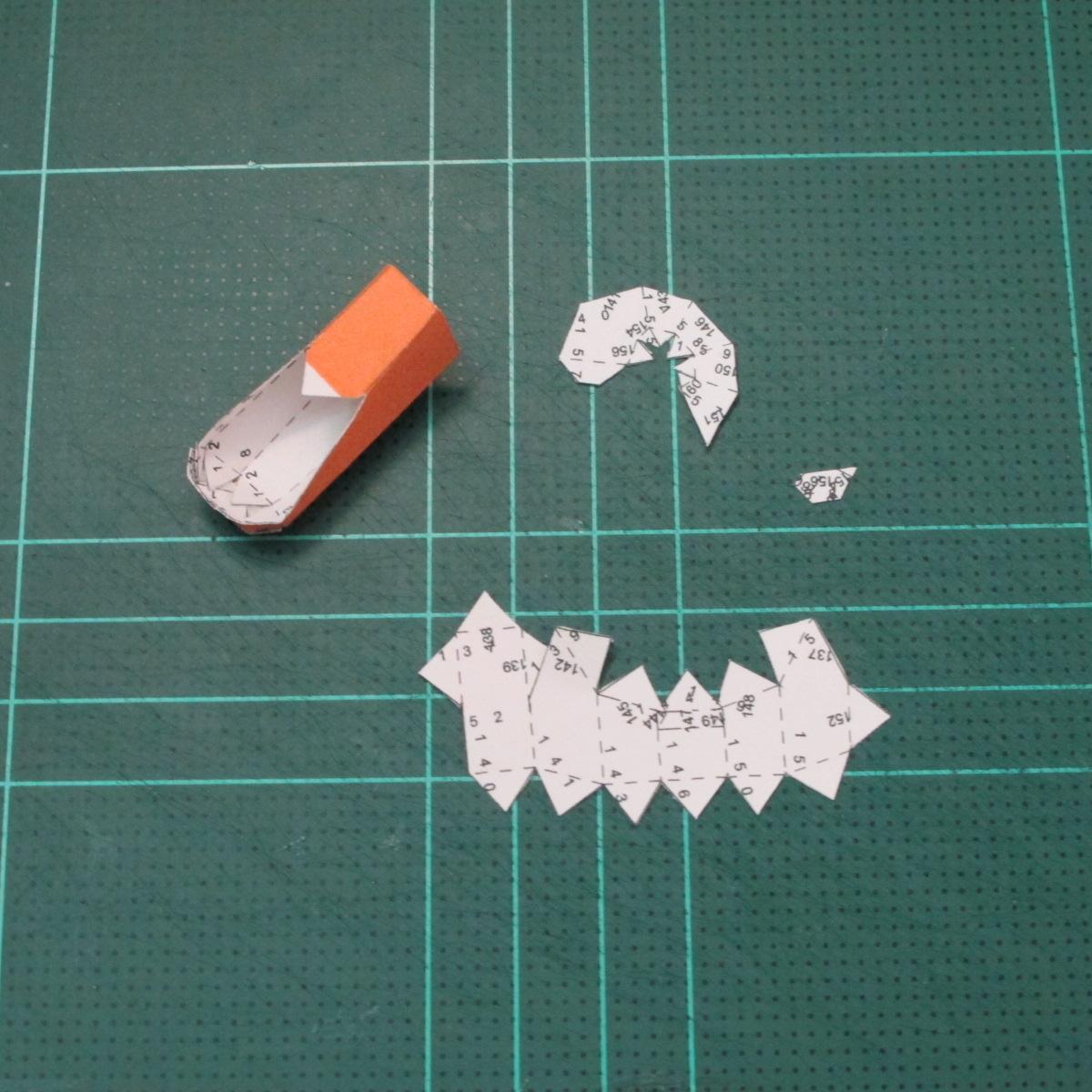 วิธีทำโมเดลกระดาษคุกกี้รัน คุกกี้รสเมฆ (Cookie Run Cloud Cookie  Papercraft Model) 003