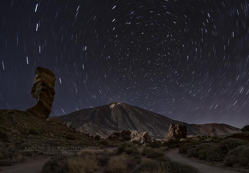 Circumpolar en el Teide