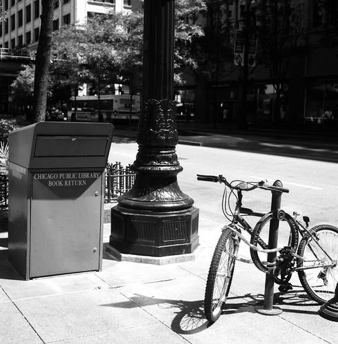 "Image titled ""Book Return, Chicago."""
