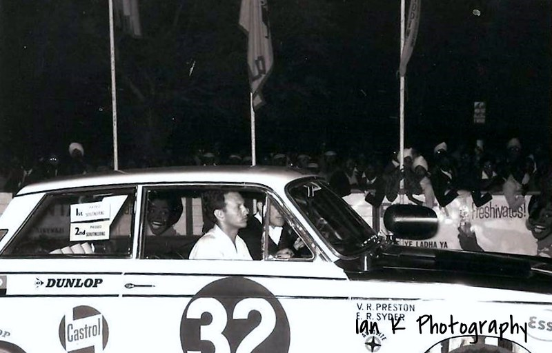 1965 East African Safari Rally