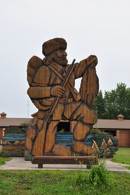 001 Bonnyville Museum - Statue of Angus Shaw