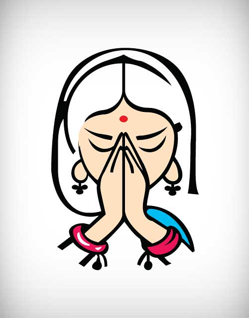 Puja Greeting Vector Download Link Puja Greeting Vector