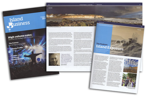 Island Business Magazine Interview - September 2014 | by s0ulsurfing