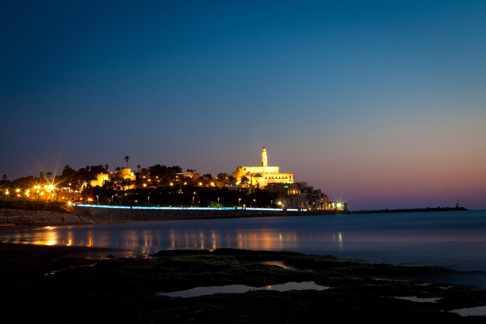 Jaffa_Panorama_night_ Dana Friedlander_IMOT