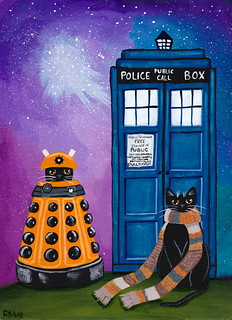 Doctor Who Halloween Cats | Ryan Conners | Flickr