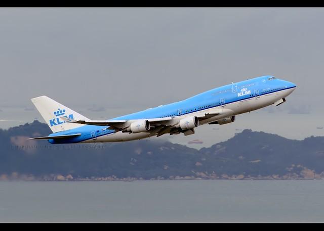 B747-406/M   KLM   PH-BFS   HKG