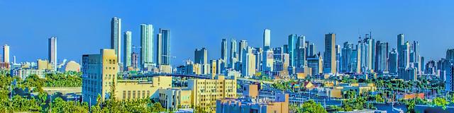 View of downtown Miami, Florida, USA / The Magic City