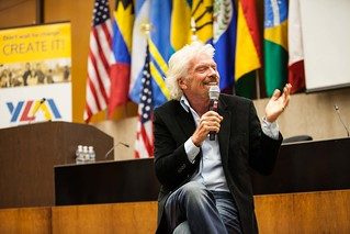 YLAI Panel with Sir Richard Branson | by Bureau of Educational & Cultural Affairs