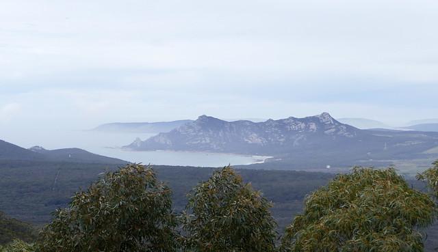 Looking towards Mount Killiecrankie from Mount Tanner...