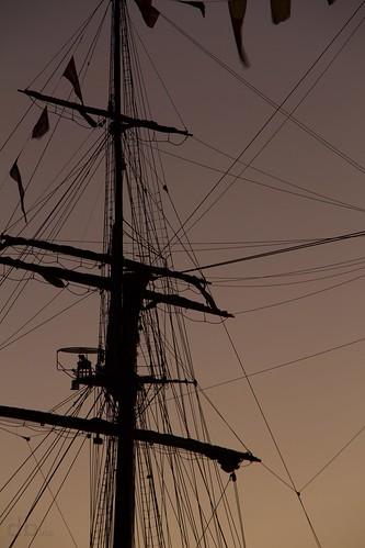 heritage silhouette port sunrise eos rebel spain ship juan florida tall mast pensacola rigging sebastián elcano pensacolabay escambia t4i borderfx dontristandeluna