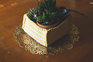 Crochet: basket | by Lisa | goodknits