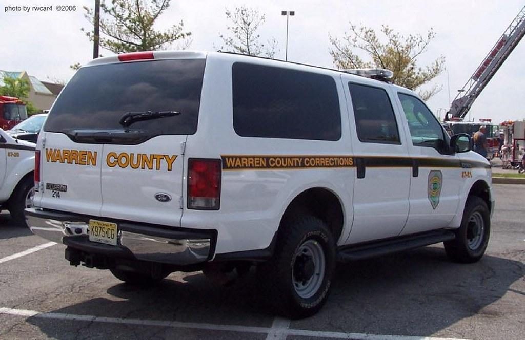 Warren County NJ Dept of Corrections - (older markings) 20