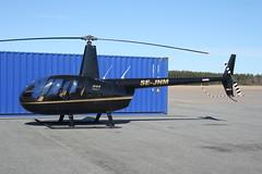 SE-JNM Robinson R44 Raven I at Karlskoga ESKK