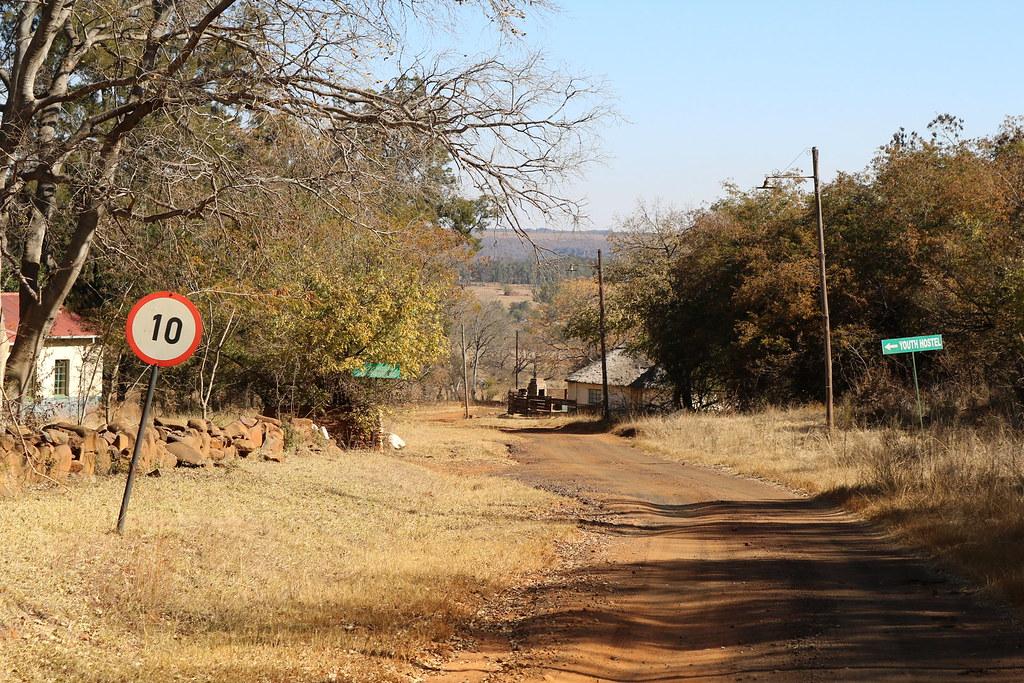 Ortseingang von Botshabelo