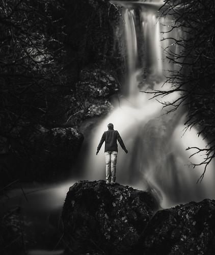 Le cascate del torrente