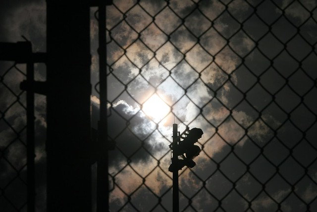 #3 of Baseball and Chain-link series