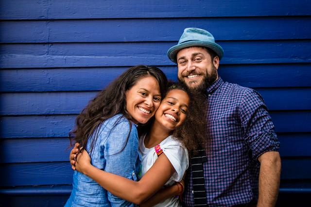 Family Portrait, Deux. New Orleans Loving Festival, 2014.