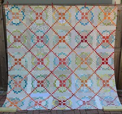 top almost done! Burgoyne Surrounded quilt
