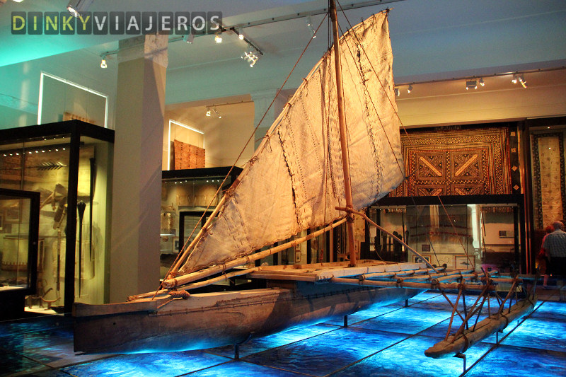 Auckland Museum. Barco