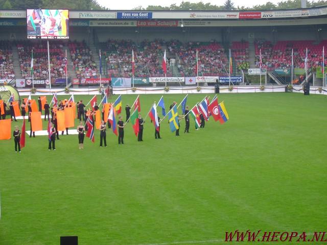 2007-07-16 Startbewijs op halen en vlaggen parade. (67)