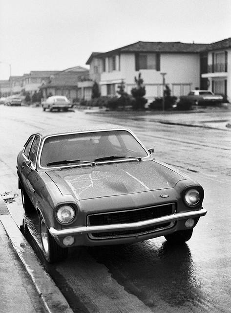 Chevy Vega GT in the Rain