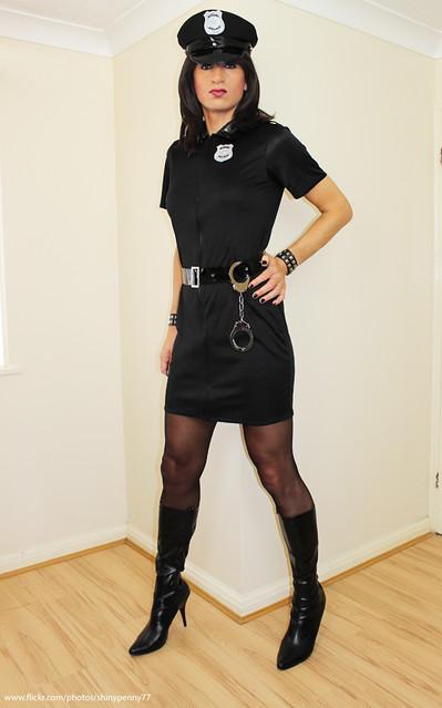 Officer Penny on patrol...