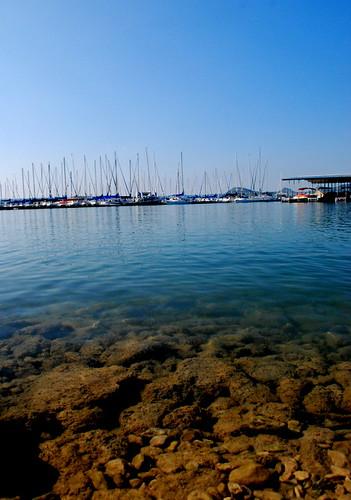 ocean blue sky lake water azul marina lago pier muelle boat agua marine warf jetty quay cielo mole bote aceano enbarcadero