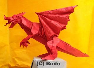 Dragon | by bodorigami
