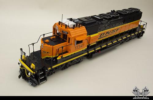 EMD SD40-2 Lego 1:16